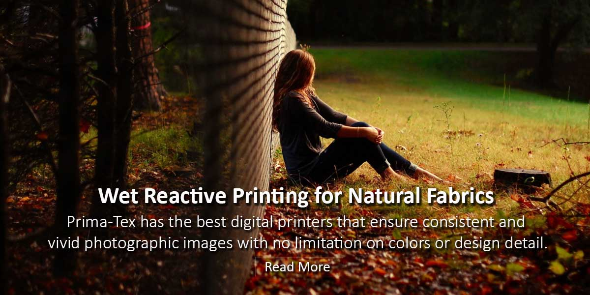 Prima-Tex Wet Reactive Printing